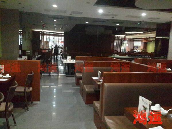 餐厅家具定制 中餐厅板式卡座ZXCTSF-1033