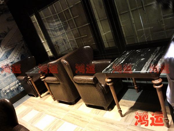 餐厅单人沙发
