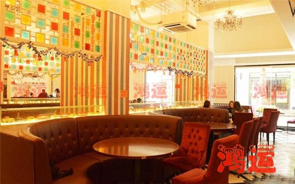 该款卡座沙发转为茶餐厅设计定制!